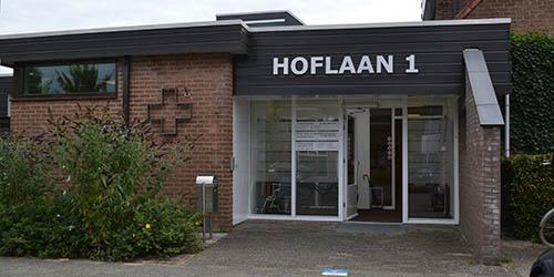 voorkant gebouw Hoflaan